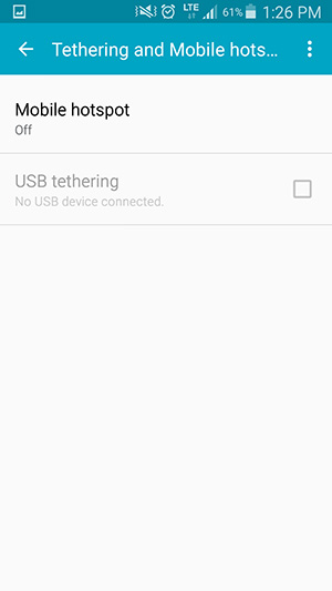 How to set up a personal mobile hotspot | MTS